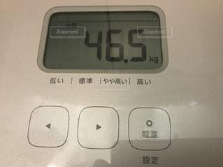 体重測定の写真・画像素材[2253469]