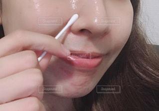 小鼻のスキンケアの写真・画像素材[2272826]