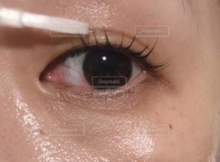目のクローズアップの写真・画像素材[2342965]