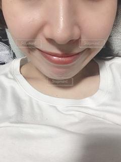 女性の素肌の写真・画像素材[2409807]