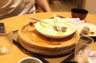 食後のテーブルの写真・画像素材[2502220]