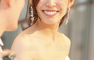 花嫁のクローズアップの写真・画像素材[2561833]