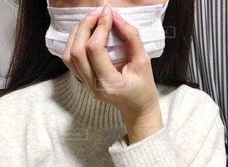 マスクをした女性の写真・画像素材[2832468]