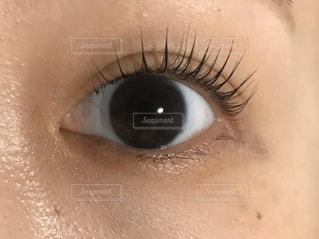 人の目のクローズアップの写真・画像素材[2952392]