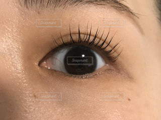 人の目のクローズアップの写真・画像素材[2952391]