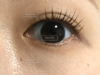 人の目のクローズアップの写真・画像素材[2952393]