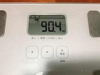 体重計の写真・画像素材[2971614]