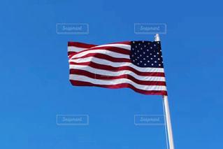 アメリカ合衆国の国旗の写真・画像素材[3339007]