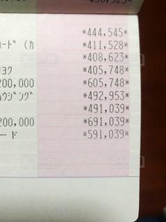 貯金通帳の写真・画像素材[3380254]