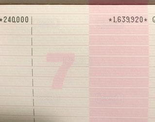 貯金通帳の写真・画像素材[3380249]