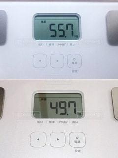 体重ビフォアフターの写真・画像素材[3587001]