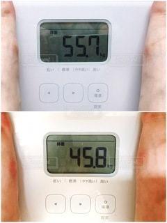 体重ビフォアフターの写真・画像素材[3587000]
