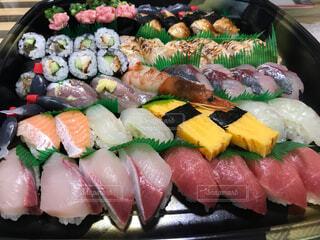 寿司の盛り合わせの写真・画像素材[3659744]