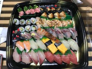 お寿司盛り合わせの写真・画像素材[3659745]