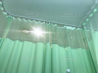 病室からの眺めの写真・画像素材[1444631]