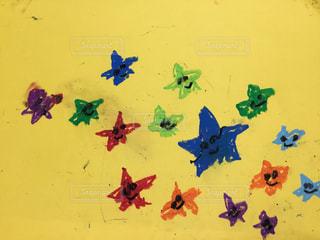 小学生の星の絵の写真・画像素材[1381207]