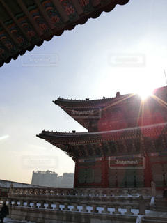 韓国・景福宮の写真・画像素材[1363001]