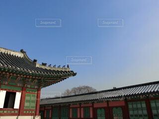 韓国・景福宮の写真・画像素材[1363014]