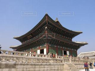 韓国・景福宮の写真・画像素材[1363018]