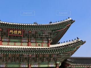 韓国・景福宮の写真・画像素材[1363019]