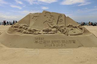 海雲台砂祭りの写真・画像素材[1375301]