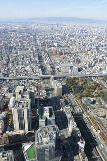 大阪・あべのハルカス展望台の写真・画像素材[1380960]