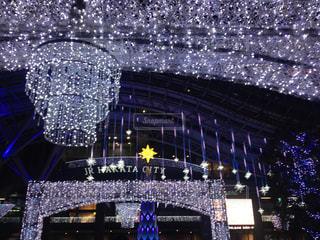 福岡・博多駅前の写真・画像素材[1384807]