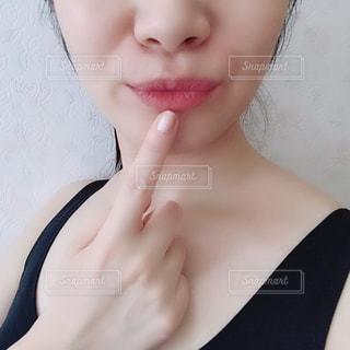 クローズ アップの女の子の写真・画像素材[1388360]