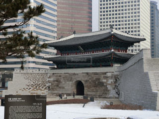 韓国ソウル・南大門(崇礼門)の写真・画像素材[1391043]