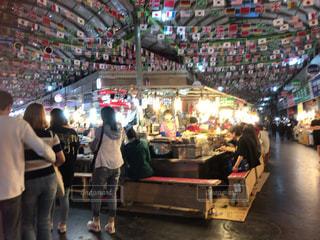 韓国の市場にて。の写真・画像素材[1392424]