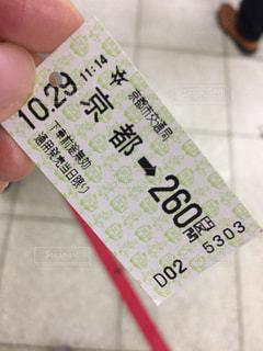 切符の写真・画像素材[1409864]