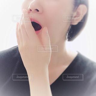 あくびの写真・画像素材[1421247]
