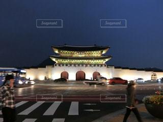 韓国・ソウル・光化門の写真・画像素材[1424305]