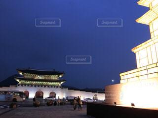 韓国・ソウル・光化門の写真・画像素材[1424306]