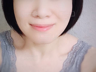 女性のアップの写真・画像素材[1428046]