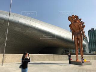 韓国・ソウル・東大門の写真・画像素材[1431759]
