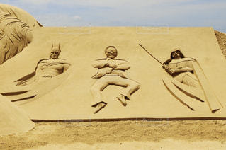 海雲台砂祭りの写真・画像素材[1432661]