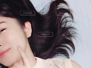 女性のアップの写真・画像素材[1432693]