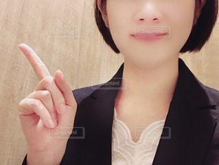 スーツ姿の女性の写真・画像素材[1439183]