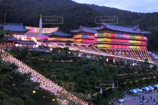 韓国・釜山・三光寺にて。の写真・画像素材[2082125]