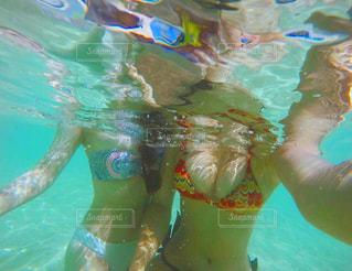 水中でインスタ映えの写真・画像素材[1341638]