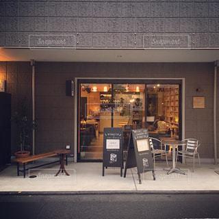 下北沢のおしゃれなブックカフェの写真・画像素材[1342075]