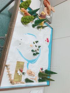 亀の島、箱庭療法の写真・画像素材[1343946]