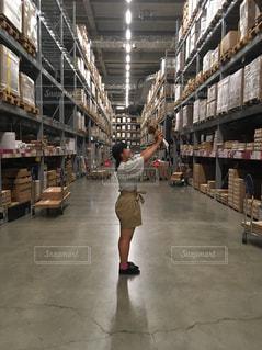 IKEA倉庫の写真・画像素材[1354637]