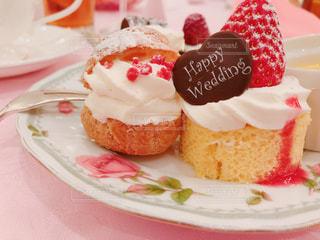 幸せのケーキの写真・画像素材[1358752]