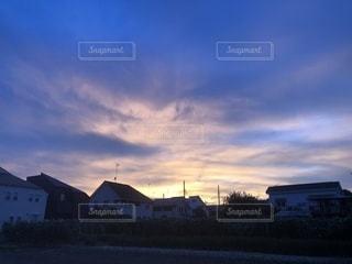 群青色の空の写真・画像素材[1344362]