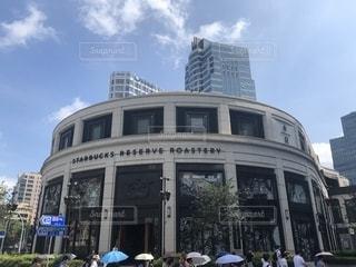 上海のスターバックスの写真・画像素材[1344753]