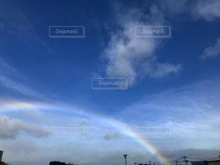 空には雲のグループの写真・画像素材[1387126]
