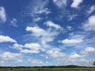 田舎と大空。の写真・画像素材[1345623]