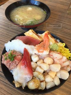 海鮮丼の写真・画像素材[1351330]